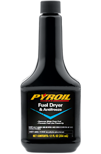 Pyroil Fuel Dryer and Antifreeze